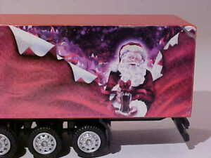 9 INCH Mack Coca-Cola Christmas Truck 1997 Unbranded 1/87 H0 Diecast Mint Loose