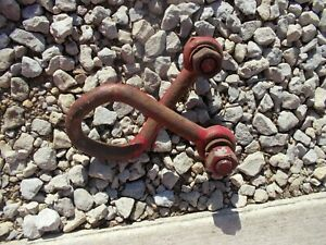 Universal Clevis For Plow Or Pulling Pullin Mount To Wishbone Style Drawbar