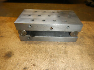 Machinist Adjustable Angle Sine Plate Jig Fixture Work Holding Mill Grinding