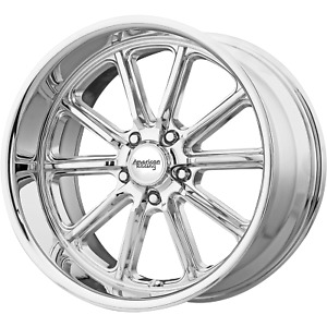 Fits American Racing Rodder Chrome 18x9 5 Jeep Rims 5x127 5x5 0 Offset Each
