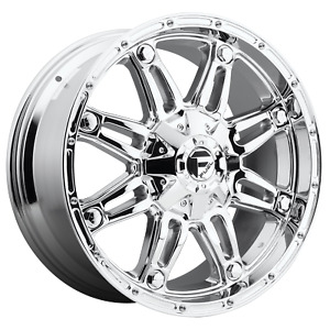 Fuel 1pc Hostage Chrome Plated 20x9 Ford F250 Rims 8x170 1 Offset Each