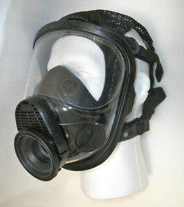 Msa 10075909 Full Face Respirator Hycar 4000 Assembly Mask Gas Medium New