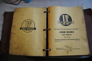 Binder Lot 15 Mixed John Deere Tractor Workshop Shop Service Repair Manual I