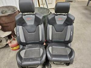 Ford Focus 2 Front Seats Recaro St air Bag Cloth And Leather manual