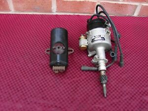 Chevrolet 216 235 6 Cylinder Mallory Yc 180 N Dual Point Distributor W Coil