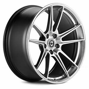 Hre Ff04 Wheels 19x9 35 5x112 66 6 Titanium Rims Set Of 4