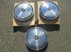 Nos Factory 1982 To 1983 Buick Century 14 Inch Hubcaps Wheel Covers