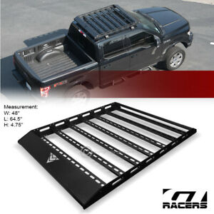 For 2014 2020 Toyota Tundra Crewmax Cab Blk Ar s Modular Steel Roof Tray Basket