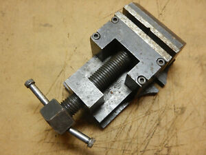 Older Machine Shop Made Small Mill Or Drill Vise Jig Fixture Tooling