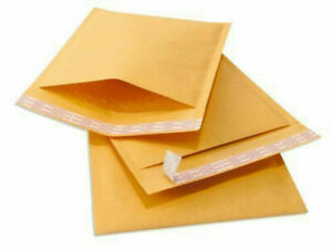 250 0 6x10 Kraft Paper Padded Bubble Envelopes Mailers Shipping Case 6 x10