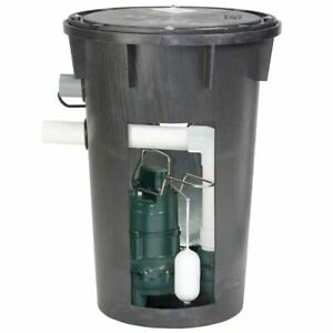 Zoeller 912 0082 4 10 Hp Cast Iron Preassembled Sewage Pump System W Side