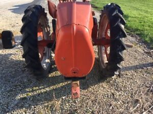 Allis Chalmers G Tractor 7 2 X 30 30 Good Year Tread 95 Tires Ac Rims Centers