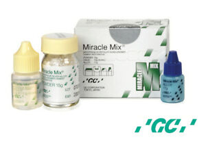 Gc Dental Miracle Mix Radiopaque Silver Alloy Glass Ionomer Cement Restorative