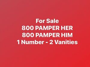 800 Pamper Her Him Toll Free Vanity Phone Number Mothers Day Fathers Day Spas