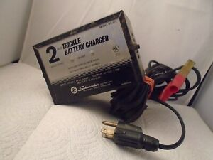 Solid State 2 Amp Trickle 12 Volt Battery Charger Schumacher Model Ws 212
