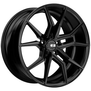 4 Xo Verona 19x8 5 5x114 3 5x4 5 32mm Matte Black Wheels Rims