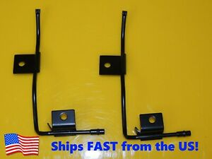 New Windshield Washer Nozzle Set Wipers For 1973 1980 Chevy Gmc C K Series