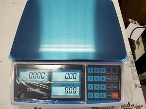 Ztp r 30lb Price Computing Scale With Plastic Cover Condition Is New