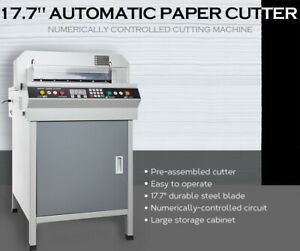 17 7 450mm Electric Paper Cutter Best Price China Manufacture direct Wow