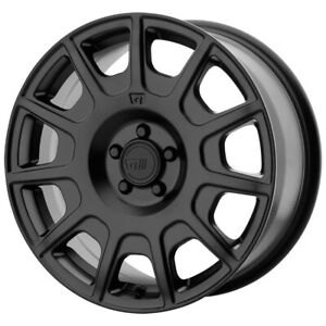 4 motegi Mr139 15x7 5x100 15mm Satin Black Wheels Rims 15 Inch