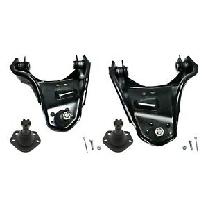 Control Arm Kit For 1997 2004 Chevrolet S10 Front Left And Right Upper And Lower