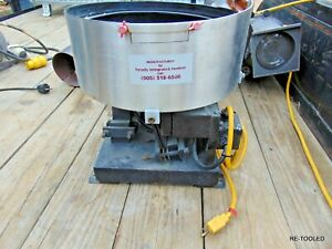 15 Vibratory Bowl Parts Feeding Feeder Totally Integrated Feeders Electric