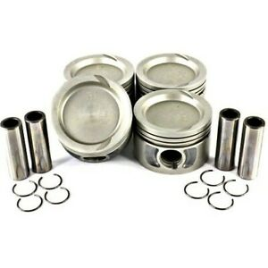 P147 Dnj Pistons Set Of 4 New For Le Baron Dodge Caravan Plymouth Voyager Shadow