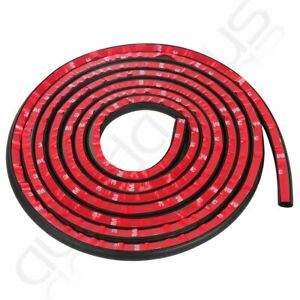 4m Auto Parts Car Door Seal Rubber Trim Trunk Edge Guard Strip D Shape Universal