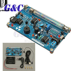 Assembled Diy Geiger Counter Kit Nuclear Radiation Detector Beta Gamma Ray New
