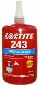 Loctite 243 250ml Threadlocker Medium Strength Glue Compound Retaining