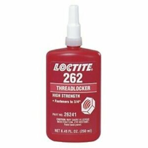 Loctite 262 Threadlockers Medium To High Strength 250 Ml Red