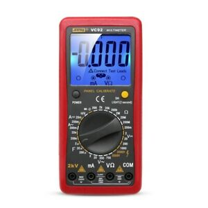 Digital 2000v Ac dc High Voltage Multimeter Voltmeter Tester Meter New Arrival