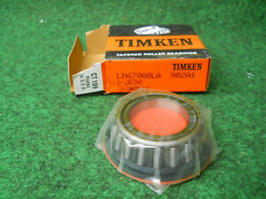 Timken Lm67000la 902a1 Cone Bearing Fits Ditch Witch 125 297