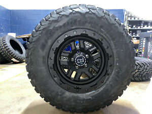 5 17 Black Rhino Barstow Wheels Rims 33 Bfg Ko2 Tires 5x5 Jeep Wrangler Jk Jl