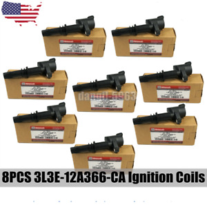 8pcs Genuine Ignition Coil For Ford Expedition Explorer Motorcraft F 150 5 4l Us