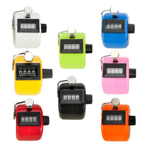 Gogo Abs Handheld Tally Counter 4 Digit Display Clicker For Sport Events Coach