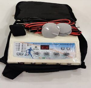 Electrotherapy Unit Professional Stimulator 4 Channel Machine Therapy
