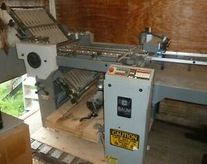 Baum Folder Series 2020 Model 1320b Pile Sheet Feeder