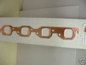 Bb Chevy Square Port Copper Header Gaskets 1 Pair 396 427 454 496 502
