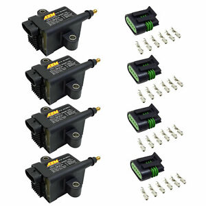 Aem 30 2853 High Output Igbt Inductive Smart Ignition Coil Universal Set Of 4