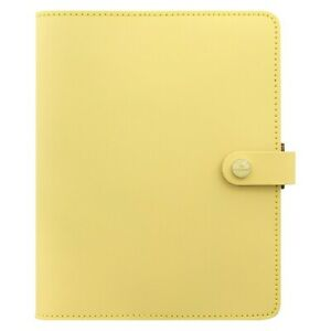 Filofax The Original Leather Organizer Agenda Calendar With Diloro Jot Pad Re