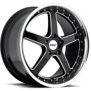 19x9 5 Black Wheel Tsw Carthage 5x4 5 40