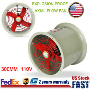 300mm Explosion proof Axial Flow Fan For Factory Ventilation Heat Dissipation