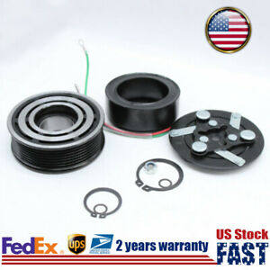 Air Compressor Clutch Pulley With Bearing Kit For Honda Cr v 2 4l 2002 2006