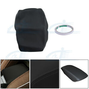 Fits 2007 2011 Toyota Camry Leather Center Console Lid Armrest Cover Skin Black