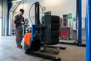 Ame Easy Stacker 800 Forklift picker Attachment For Handling Tires