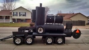 Custom Built Mobile Smoker The Biggest In Colorado Price Drop 2500 Off