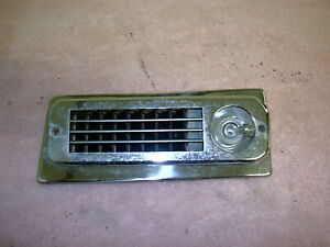 1959 1960 Lincoln Air Conditioning Vent Drivers Side 4 20
