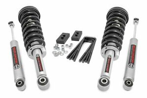 Rough Country 2in Ford Leveling Lift Kit N3 Struts N3 Shocks 09 13 F 150