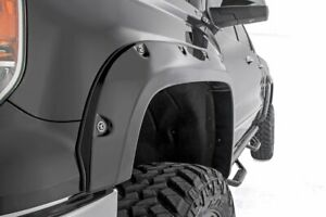 Rough Country Chevy Gmc 1500 Pocket Fender Flares W Rivets